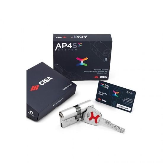 Κύλινδρος Ασφαλείας Cisa AP4S με Πατενταρισμένο Σύστημα Κλειδιού
