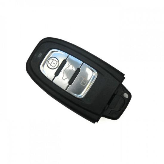 Κέλυφος Κλειδιού Αυτοκινήτου Audi Smartkey με τρία Κουμπιά