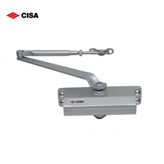 Cisa 60460 Μηχανισμός - Σούστα Επαναφοράς Πλακέ - Ασημί
