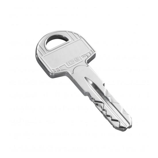 Evva Ics Κύλινδρος Υπερασφαλείας με  Κάρτα - Nickel