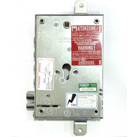 Mottura 737ELE Ηλεκτρική Κλειδαριά κυλίνδρου Θωρακισμένης Πόρτας