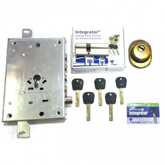 Mul-t-lock Κλειδαριά ασφαλείας Θωρακισμένης Πόρτας με κύλινδρο Mul-t-lock Integrator & Defender Disec