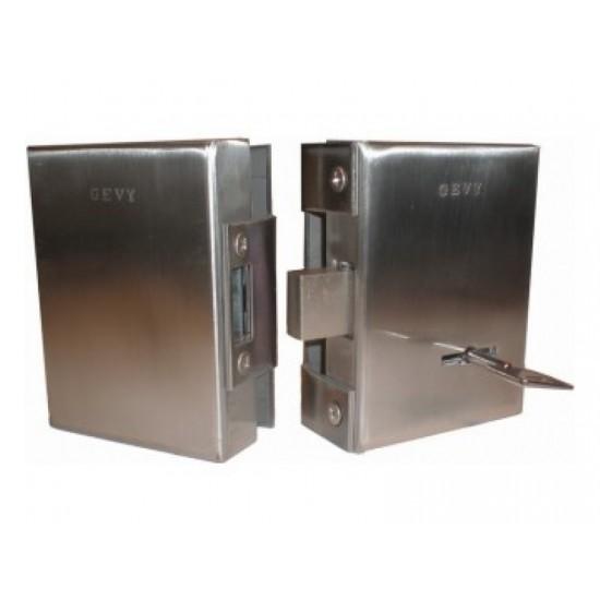 Gevy 118.056 Κλειδαριά Γυάλινης πόρτας με κλειδί Χρηματοκιβωτίου