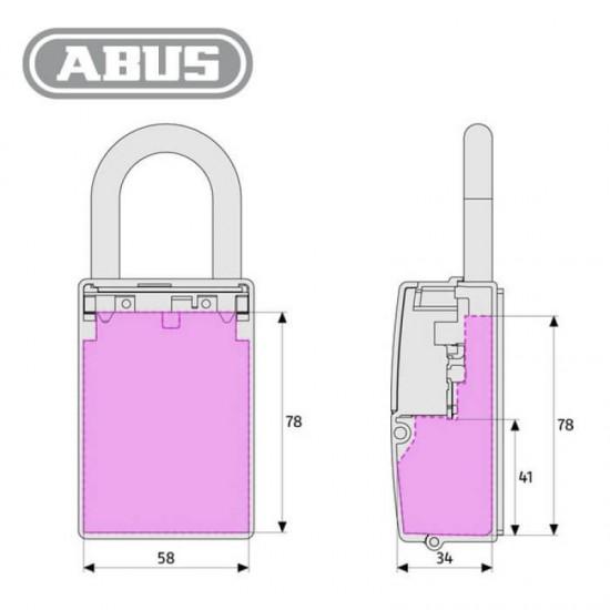 Κλειδοθήκη Abus 737 με Συνδυασμό