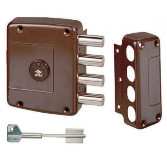 Κουτιαστή  Κλειδαριά Ασφαλείας Cisa 57152 με τηλεσκοπικό κλειδί